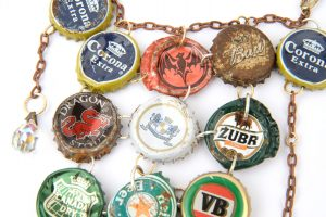 beer bottle necklace