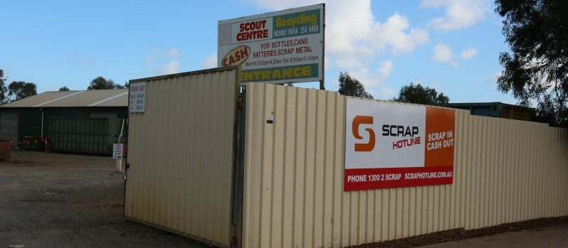 Scout Recycling Centre Munno Para