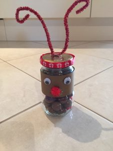 recycled reindeer craft